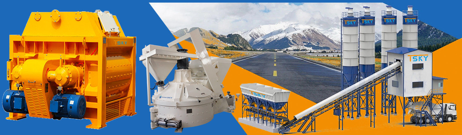 China best Industrial Concrete Mixer on sales
