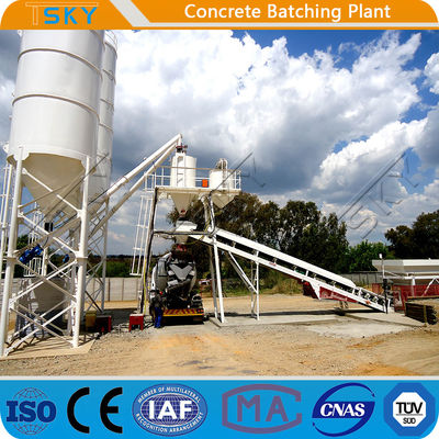 Environmental Friendly HZS35 35m3/h RMC Batching Plant
