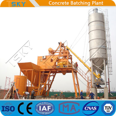 25m3/h HZS25 Ready Mixed Concrete Batching Plant