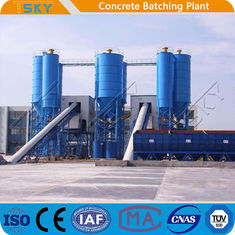 Heavy Civil Construction 240m3/h RMC Concrete Batching Plant