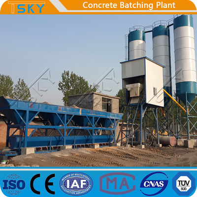 HZS120 Environmental Friendly 120m3/H Stationary RMC Plant
