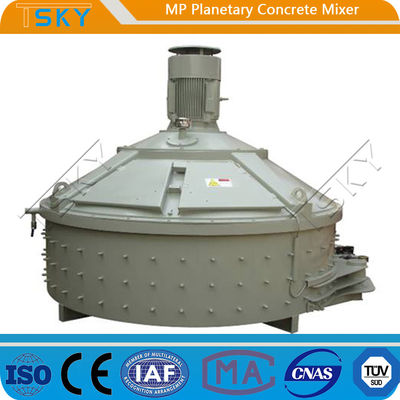 Discharging Quickly 3000L Industrial Concrete Mixer