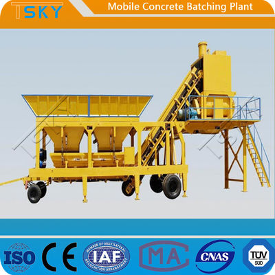 Accurate Weighing HZS35 Mobile Concrete Batching Plant