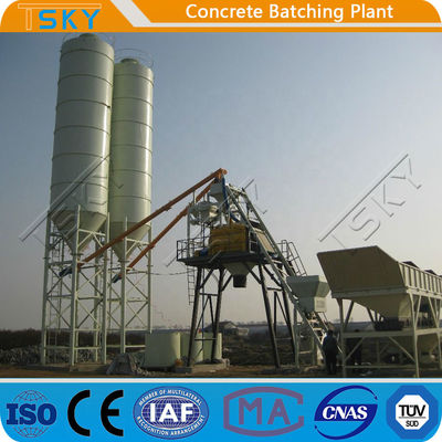 ECO Friendly 180m3/h HZS180 Stationary Batching Plant