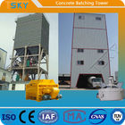 Advanced Control 240m3/H HL240 Tower Batching Plant