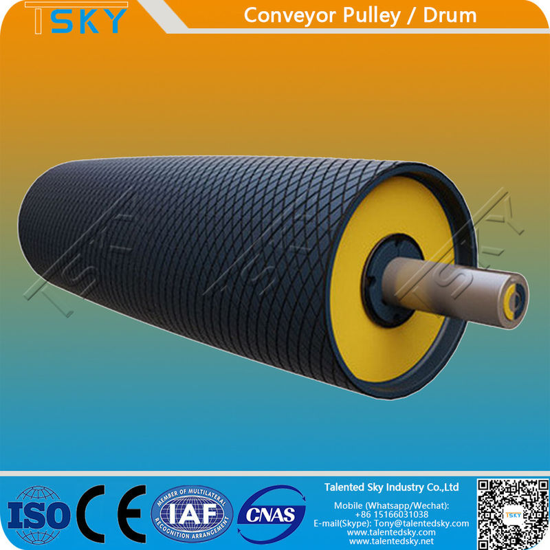 Cement Industry CEMA Belt Conveyor Drum Pulley