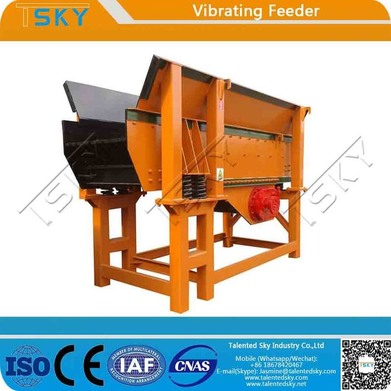 GZG Light Weight Low Noise 500tph Vibratory Feeder