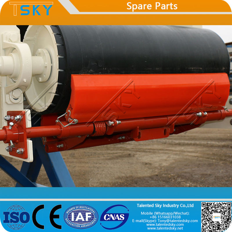 PU Primary Belt Scraper FDA Batching Plant Spare Parts