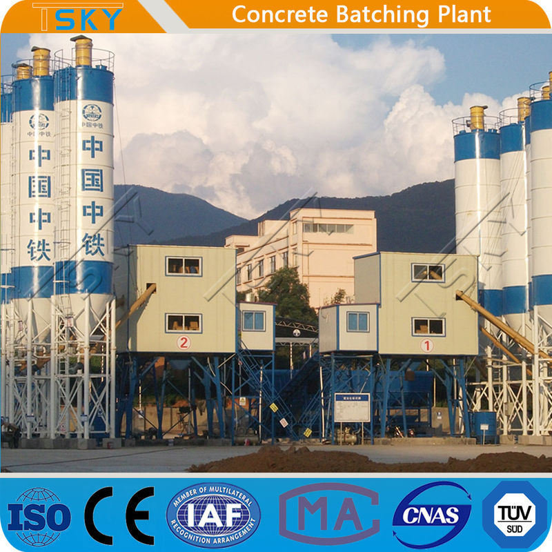 RMC Project HZS180 180m3/h Concrete Batching Plant