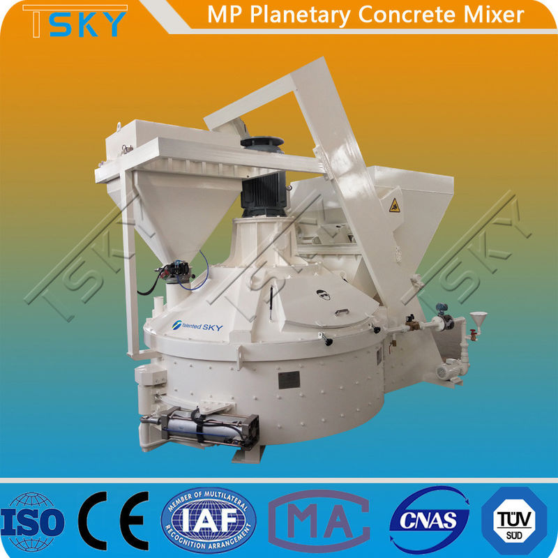 Low Noise MP375/250 11KW Planetary Concrete Mixer