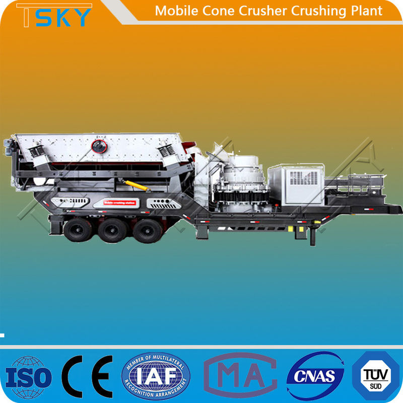 TS3S2160C138 440tph Mobile Cone Crusher Plant