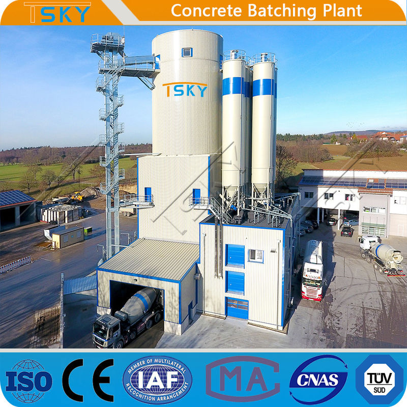 SGS Common Commercial HLS180 Tower Batching Plant