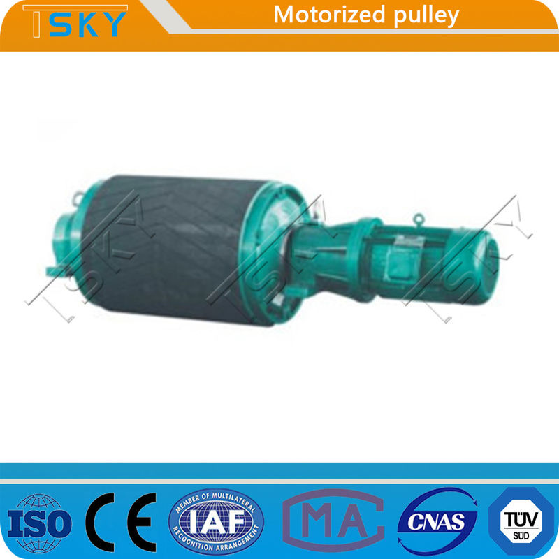 Steel Rubber Motorized Head Drive JIS Conveyor Drum Pulley