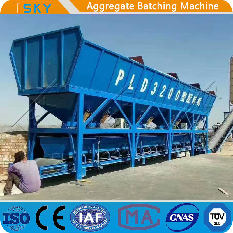 SGS Easy Cleaning PLD3200 160m3/h Aggregate Batcher