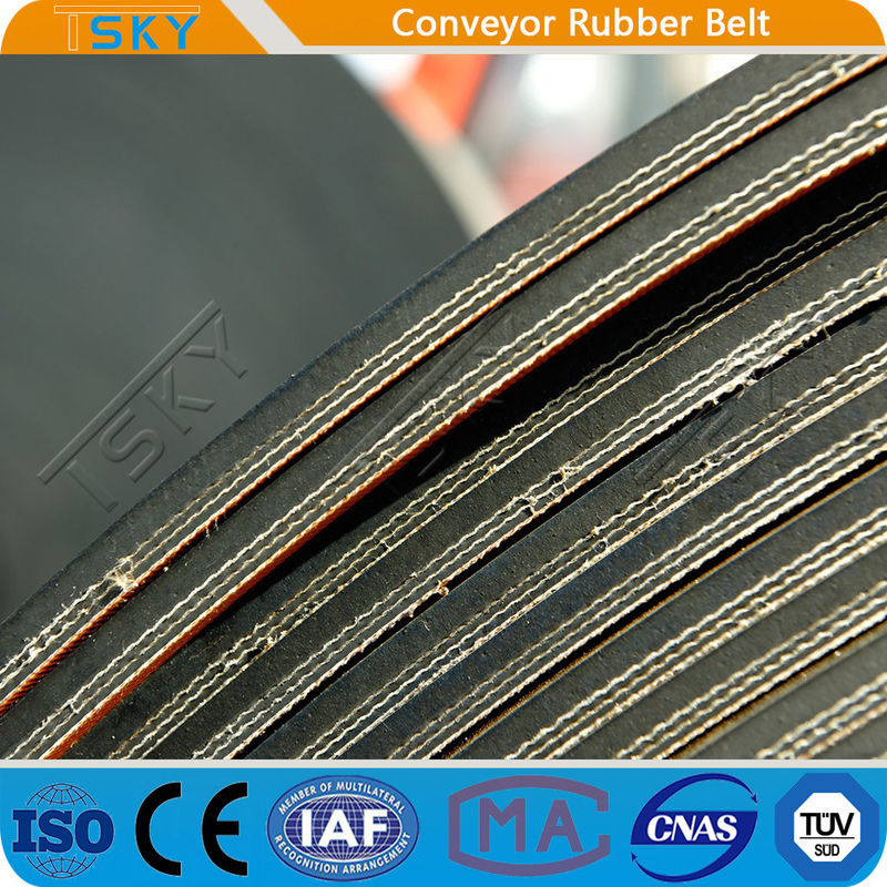 EP1000 DIN22103 Standard High Tensile Strength Durable Rubber Conveyor Belt