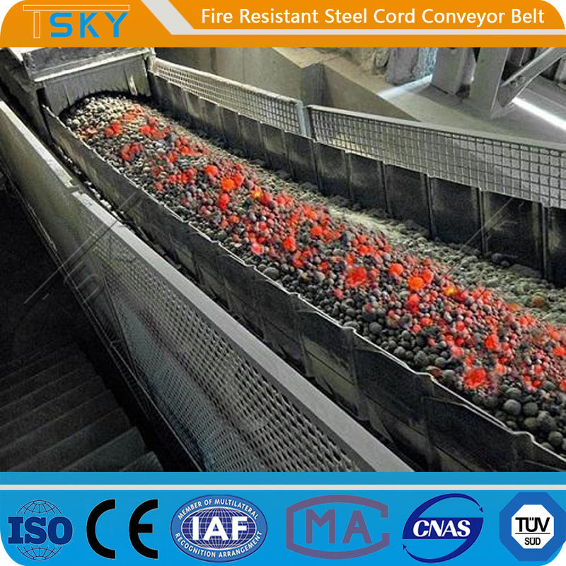 ST/S2500 Fire Resistant Steel Cord Conveyor Belt Fire Retardant Conveyor Belt