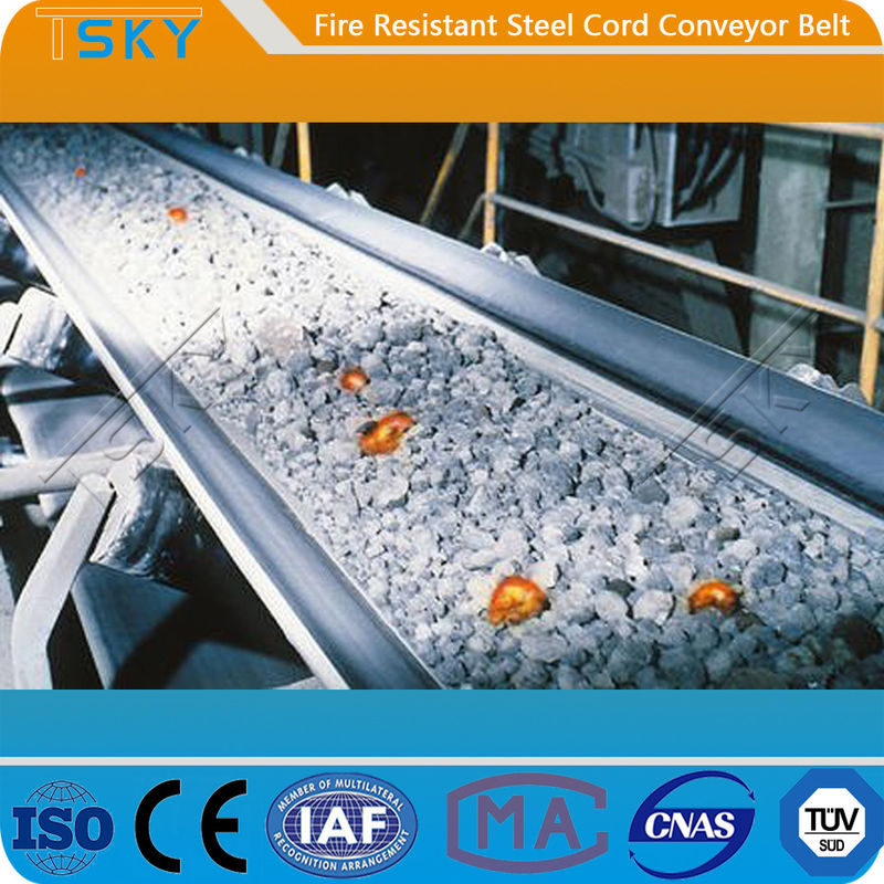 ST/S2000 Fire Retardant 6.0mm Steel Cord Conveyor Belt