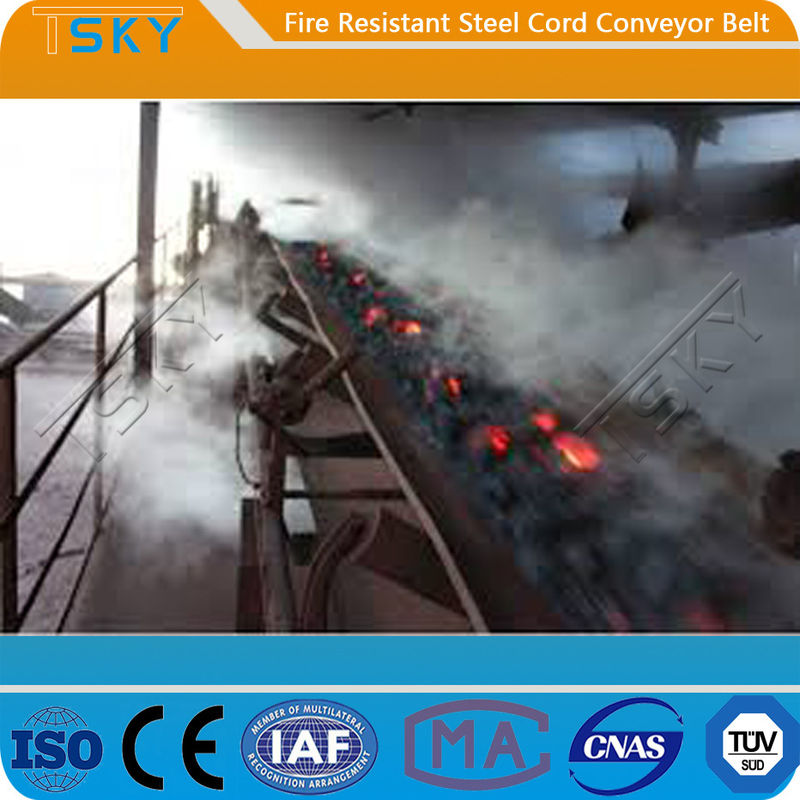 Low Elongation Fire Retardant ST/S1000 Conveyor Rubber Belt