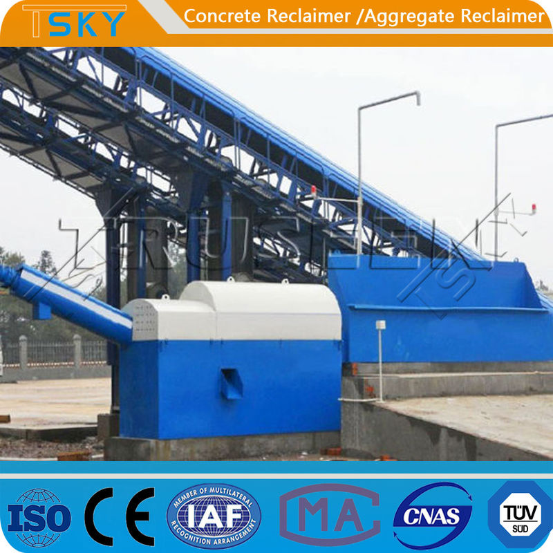 THST20 Small Space 7KW 20tph Concrete Separator
