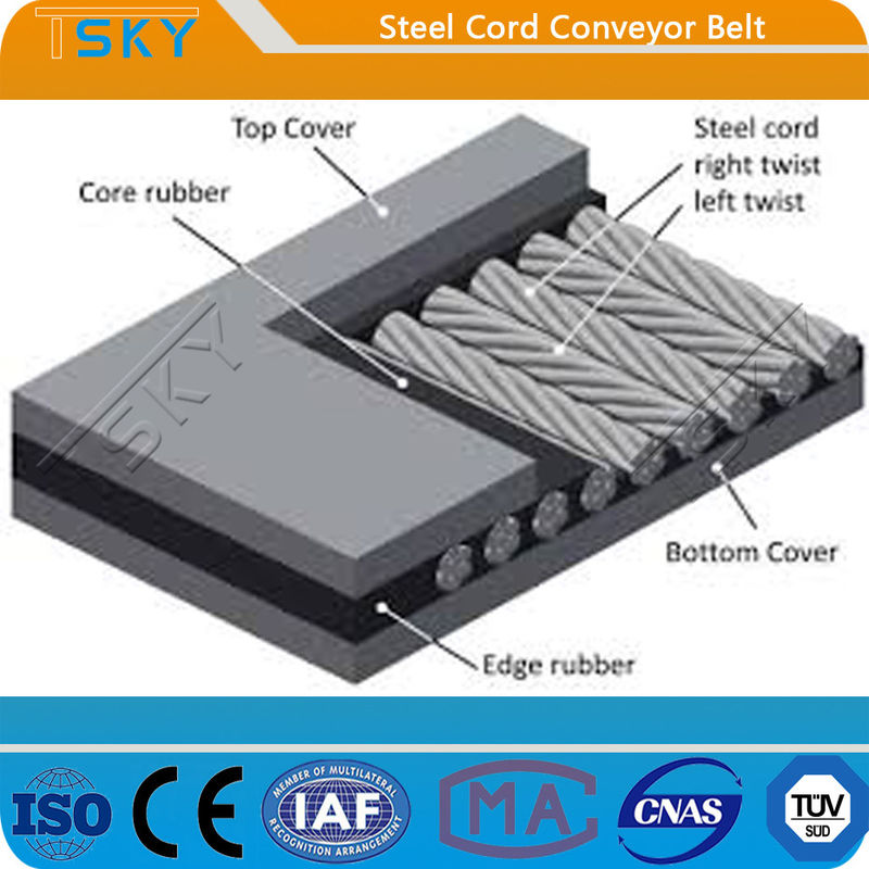 ST Series ST5000 Steel Cord Conveyor Belt