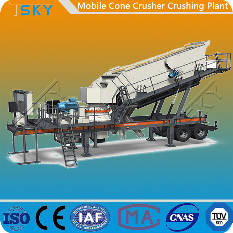 TS3S1848C100 Mobile 65tph Stone Crusher Machine