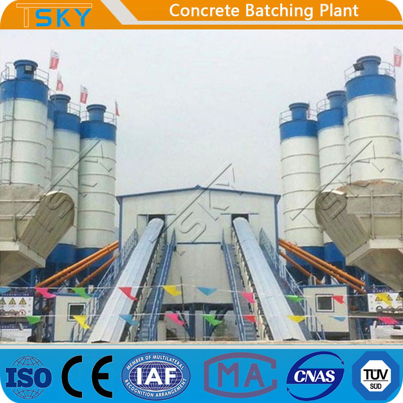 High Capacity 240m3/h Stationary Batching Plant