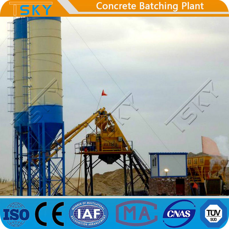 Full Automatic PLD4800 Stationary Batching Plant