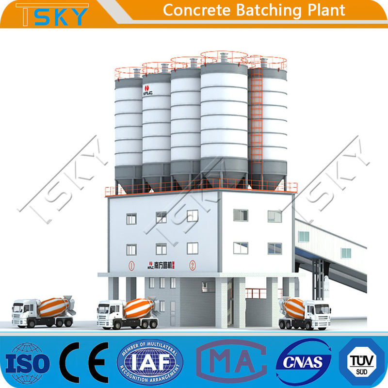 Fully Automatic Compact Tower 240m3 Concrete Mixing Plant