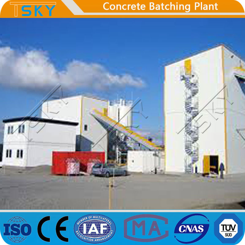 ECO Friendly High Capacity PLD4800 Tower Batching Plant