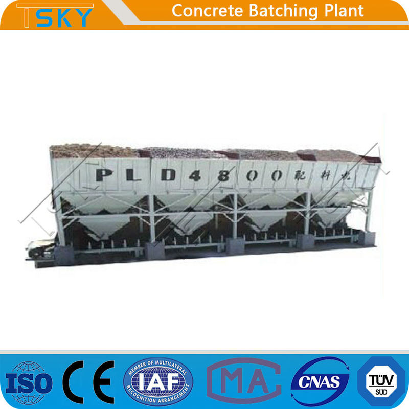 PLD2400 Integrated Design Aggregate cement Batching weighing Machine