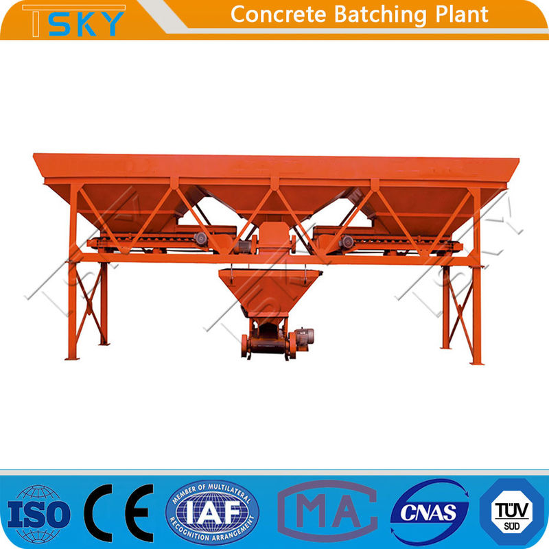 Eco Friendly 120m3/h PLD2400 Aggregate Batcher