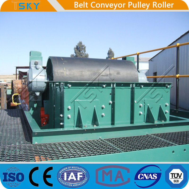 Conveyor Pulley Motorized Driving Pulley Drum With Rubber Lagging DIN, AFNOR, FEM, BS, JIS, SANS, CEMA
